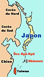 Le Japon, Taiwan, la Chine
