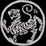 Rouleau du tigre - symbole shotokan