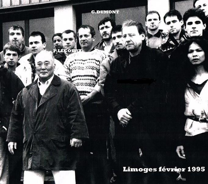 Sensei Kase, Lecourt, Dumont - Limoges (1995)