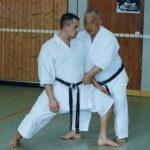 Karaté avec Pascal Lecourt, sur la voie de Kase