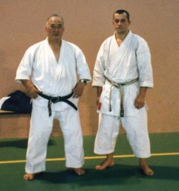 Seminar at Dojo of Rouen (1996)