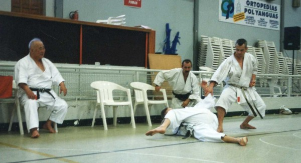 Karate Seminar with Sensei Kase - Andorre (2001)