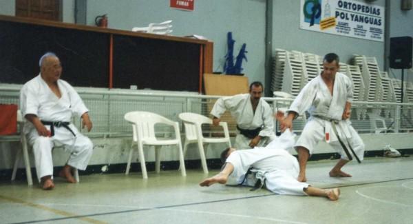 Stage de karaté avec Sensei Kase - Andorre (2001)
