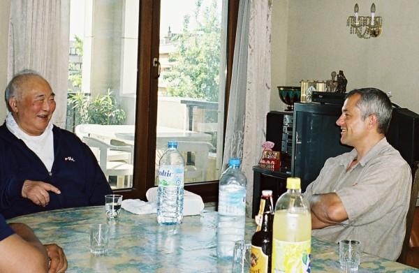 Chez Maître Taiji Kase (2003)