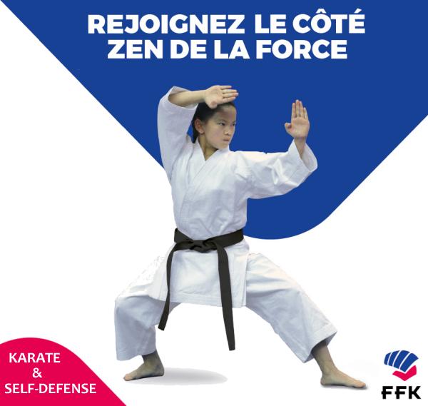 Affiche karate zen adultes ados enfants