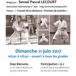 Stage avec Pascal Lecourt le 11 juin 2017