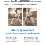 Seminar with Geoffrey Houzelle 23 May 2017
