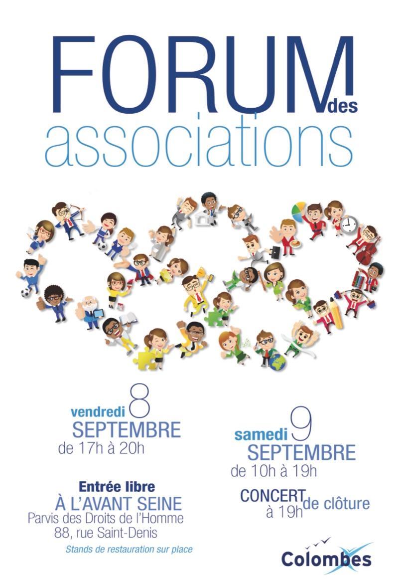 Forum des associations colombes