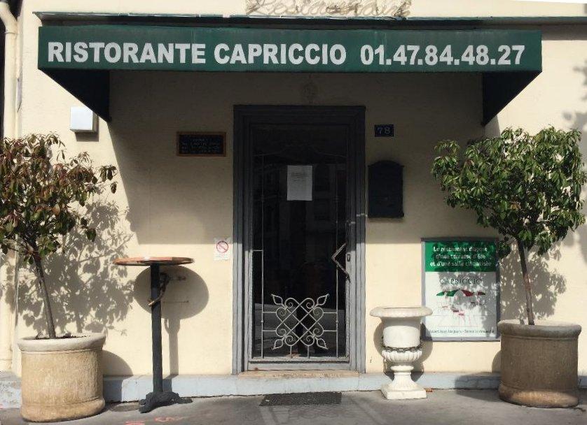 Restaurant Capriccio La Garenne Colombes