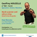 Stage avec Geoffrey Houzelle le 23 jan. 2018