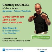 STAGE DE SELF DEFENSE Geoffrey Houzelle 2018 01 23
