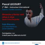 Stage avec Pascal Lecourt le 4 fév. 2018