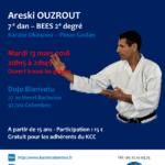 Stage avec Areski Ouzrout le 13 mar. 2018