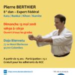 Stage avec Pierre Berthier le 13 mai 2018