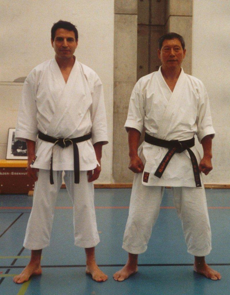 Areski Ouzrout et Hiroshi Shirai
