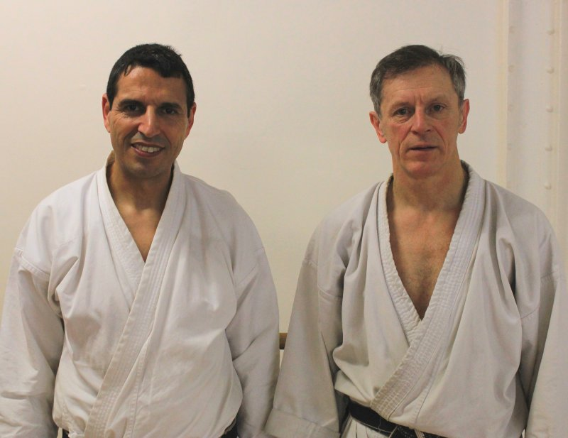 Areski Ouzrout et Jean-Louis Morel