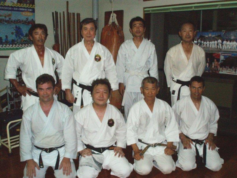 Dojo de Yoshitaka Taira, école Matsubayashi-ryû - Okinawa