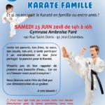 Fête du Club - Karaté Famille le 23 juin 2018