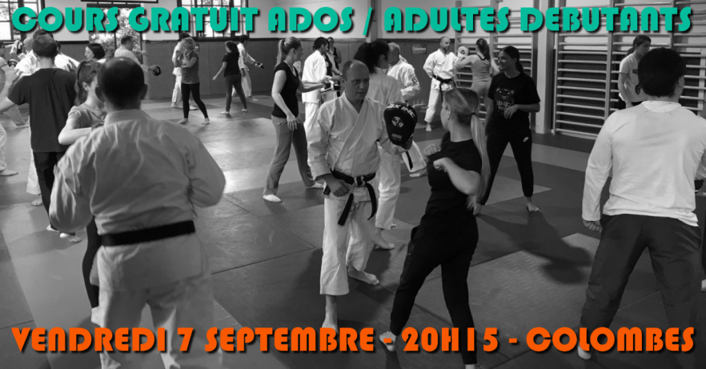 cours ados adultes d butants 7 sept 2018 karate club. Black Bedroom Furniture Sets. Home Design Ideas