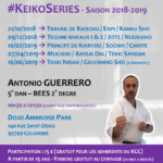 Stages de karate #KeikoSeries Saison 2