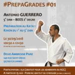 Stage karaté #PrepaGrades #01 le 30-09-2018