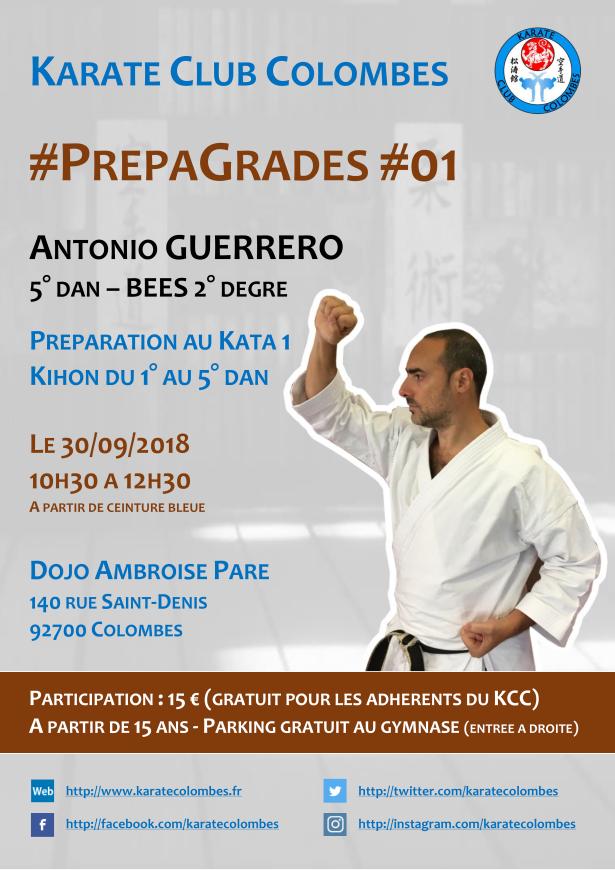 Stage #PrepaGrades #01 2018 09 30