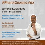 Stage karaté #PrepaGrades #02 le 18-11-2018