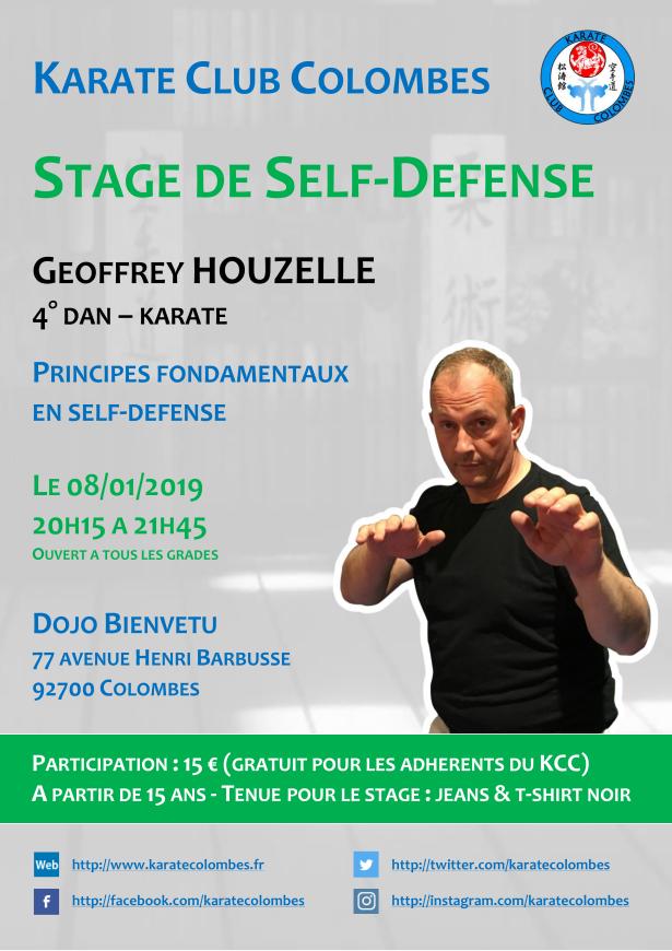 Stage Self-Defense Geoffrey Houzelle 2019 01 08