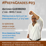 Stage karaté #PrepaGrades #03 le 13-01-2019