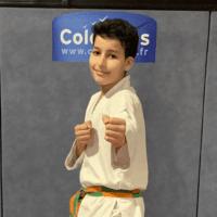 Karateka du mois - Adan M - 2019 03 FB
