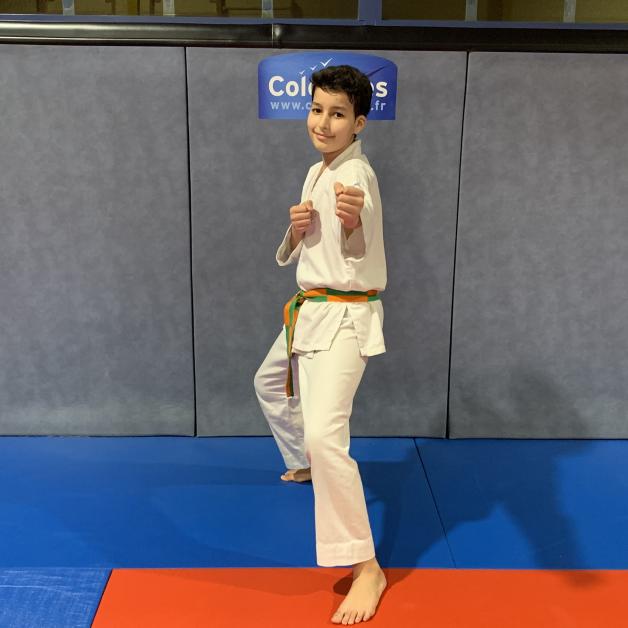 Karateka du mois - Adan M - 2019 03