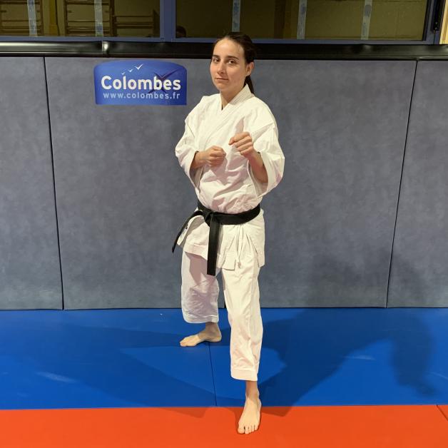 Karateka du mois - Emilie M - 2019 06