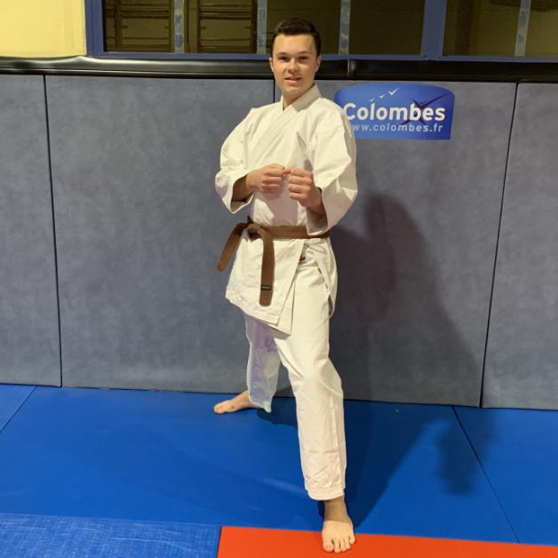 Karateka du mois - Roméo G - 2019 04