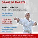 Stage avec Pascal Lecourt le 19-05-2019