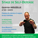 Stage avec Geoffrey Houzelle le 16-04-2019