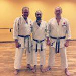 Karate training Lutie Sensei 7°dan JKA - Australia
