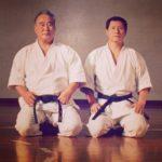 Sensei Taiji Kase & Sensei Hiroshi Shirai - 10° dan