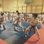 Cours de karaté ceintures noires à Colombes
