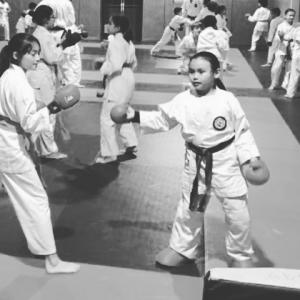 entrainement karaté enfants et ados
