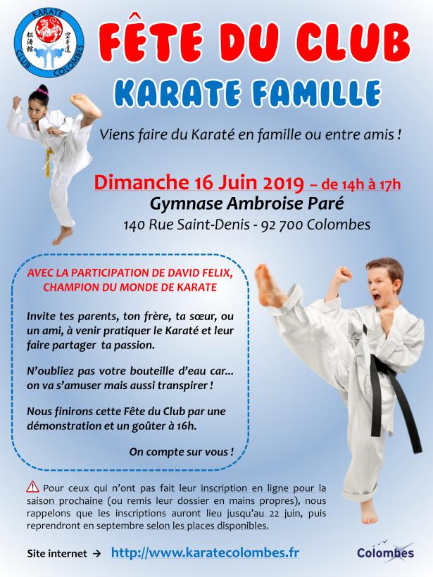 Karate Famille Affiche 2019 06 16