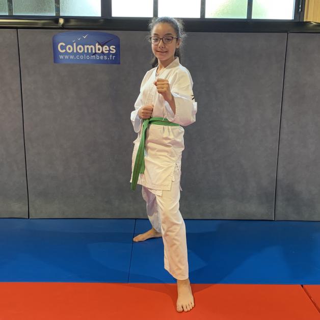 Karateka du mois - Anaïs T - 2019 05