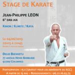 Stage avec Jean-Philippe Léon le 04-06-2019