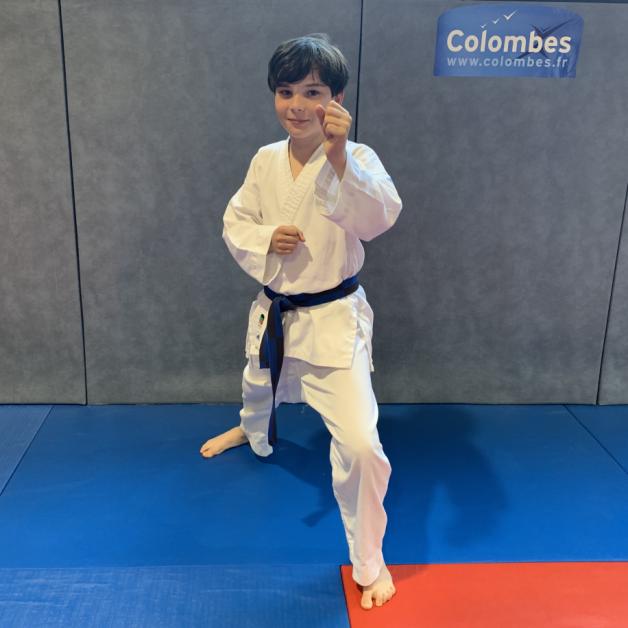 Karateka du mois - Etan G - 2019 07