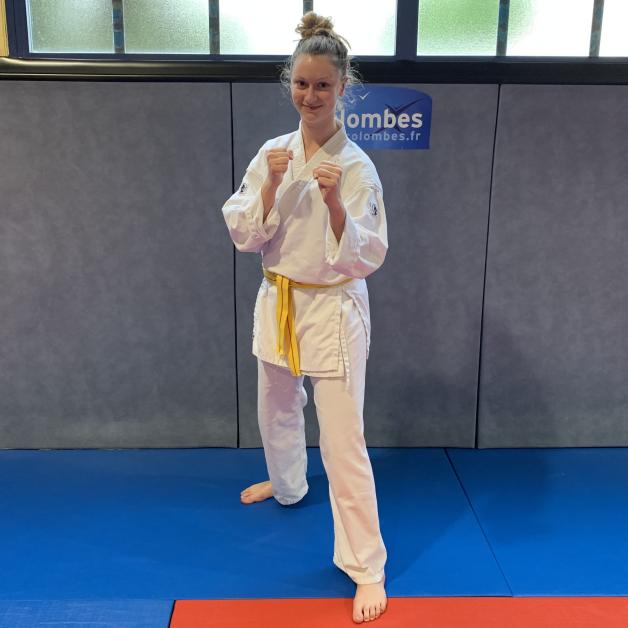Karateka du mois - Manon B - 2019 08