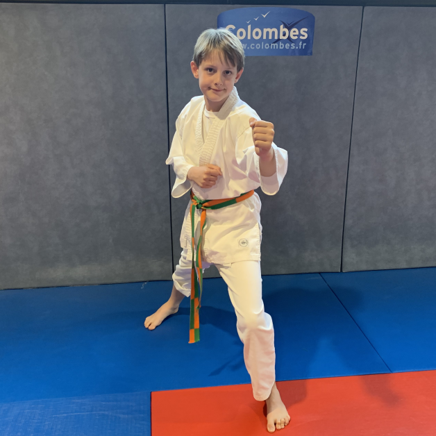 Karateka du mois - Nathan P - 2019 09