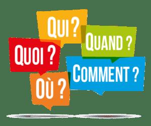 Questions fréquentes FAQ