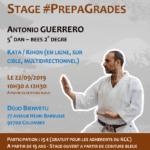 Stage karaté #PrepaGrades le 22-09-2019