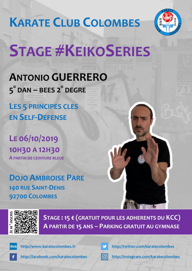 Stage Karate #KeikoSeries