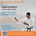Stage avec Areski Ouzrout le 12-11-2019