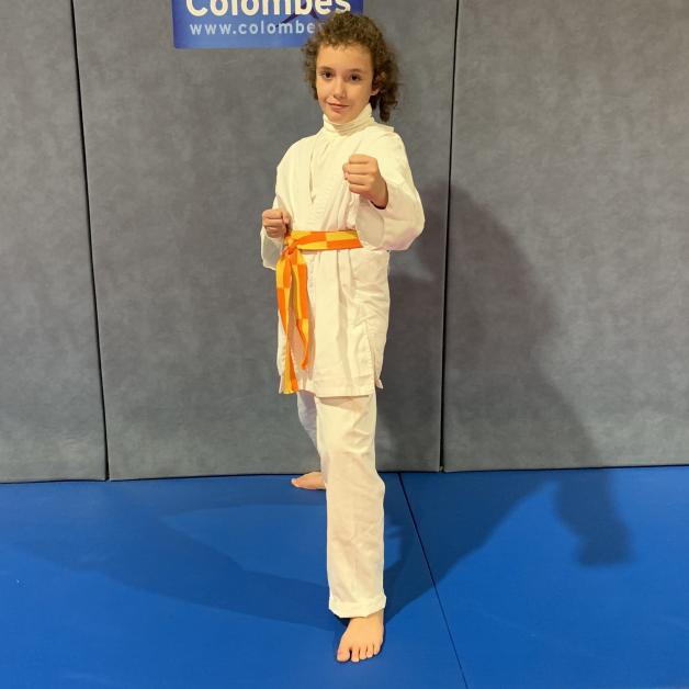 Karateka du mois - Nessa P - 2019 11